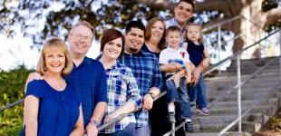 Jones & Martinez Family